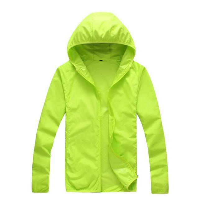 Quick Dry Skin Coat Sunscreen Waterproof UV Women thin Army Outwear Ultra-Light Windbreake Jacket Women Men Windproof Coat Jacke 4