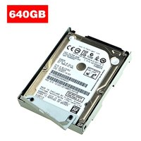 For Sony PS3/PS4/Pro/Slim 2.5 Hard Disk Drive + Mounting Bracket SUPER SLIM Game Machine Hard Disk Silver 640G