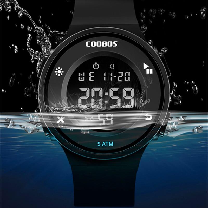 Swim Children's Watch Electronic Digital Clock Fashion Student Child Watches Multifunction Outdoor Military Hour 50M Waterproof