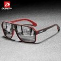 DUBERY 2020 Модные Мужские поляризационные солнцезащитные очки с оправой из поликарбоната TAC зеркальные красочные поляризационные солнцезащит...