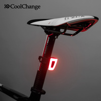 CoolChange bisiklet ışığı çok fonksiyonlu Ultralight USB şarj edilebilir bisiklet kask bisiklet arka ışık güvenlik gece bisiklet aksesuarları|Bisiklet Işığı|   -