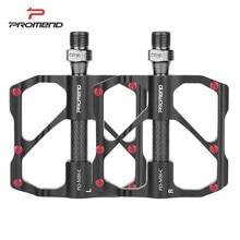 PROMEND Mtb Pedal Quick Release Straße Fahrrad Pedal Anti slip Ultraleicht Mountainbike Pedale Carbon Faser 3 Lager Pedale vtt