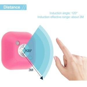 Image 2 - Aimkeeg LED Sensor Night Light PIR Infrared Motion Activated Sensor Lamp Battery Powered Wall Lamp Cabinet Stairs Light