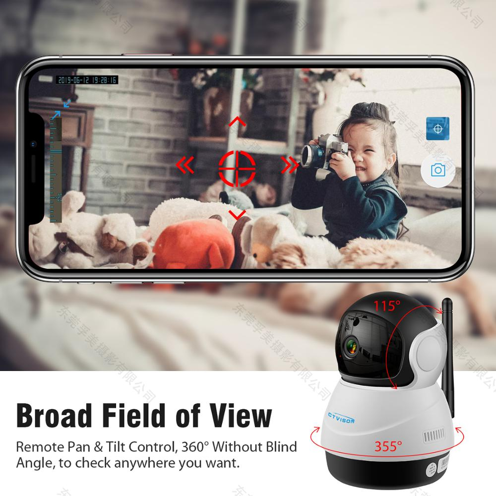 Image 3 - IP Wireless Security PTZ WiFi Camera 1080 PHD Two Way Audio Remote Access/Motion Detection/SD Card Storage/3D Navigation-in Surveillance Cameras from Security & Protection