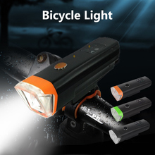 High Quality Bike Front Light Bicycle Tail Lamp Bright USB Charging LED Torch Headlight Safety Lights Cycling Flashlight