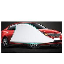 Lsrtw2017 Abs Car Roof Shark Fin Antenna Trims Car for Kia Rio X Line Kx Cross K2 Rio 2017 2018 2019 2020 Interior Accessories lsrtw2017 abs car gear panel chrome trims for kia rio 2017 2018 2019