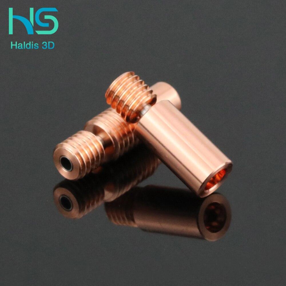 Haldis 3d биметаллический тепловой разрыв для e3d v6 hotend