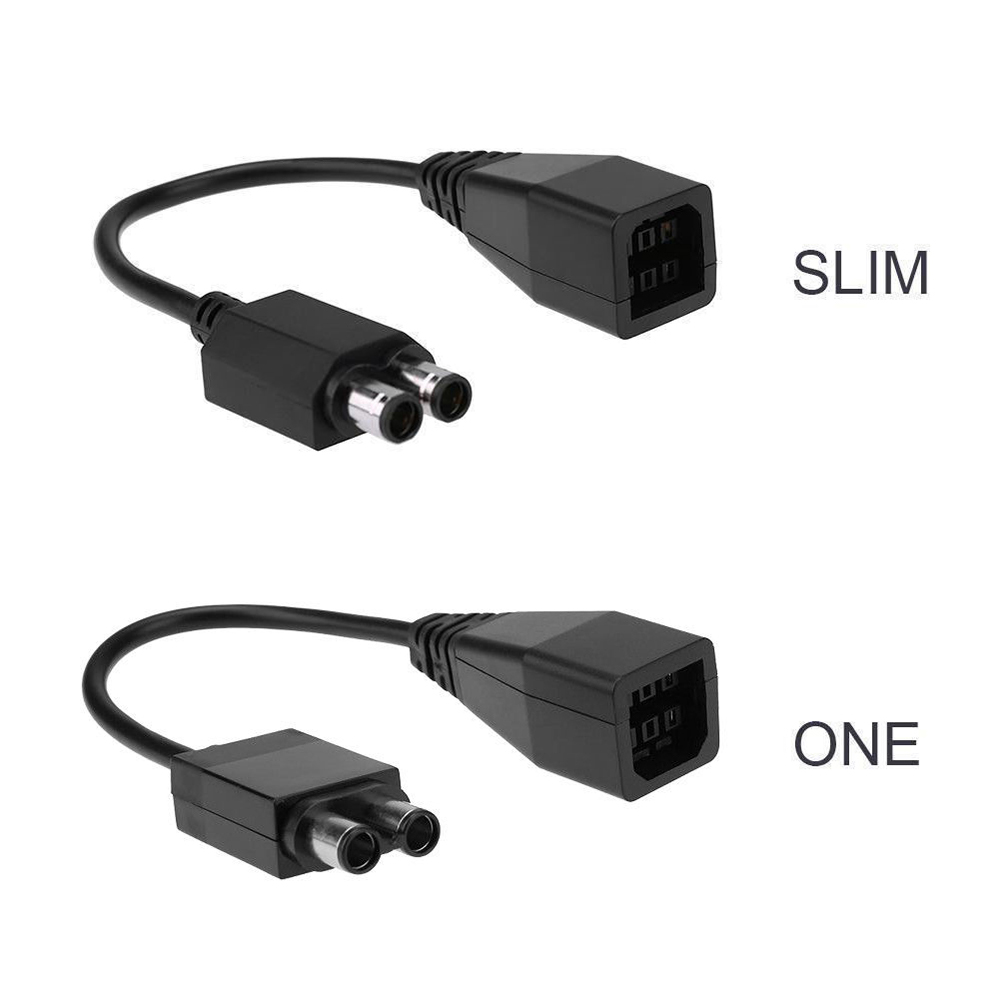 For Microsoft X XBOX 360 hdd To XBOX SLIM XBOX One To XBOX E AC Power Adapter Cable Converter Transfer Cable Cord Accessories