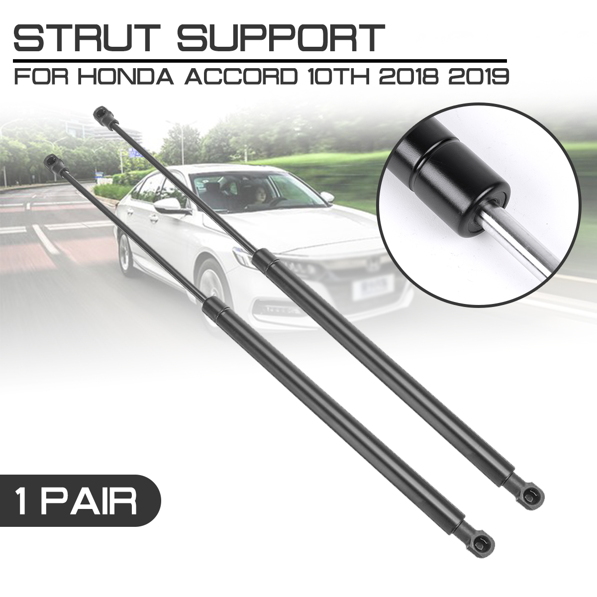 FOR VOLKSWAGEN EOS CONVERTIBLE 2006 REAR TAILGATE BOOT TRUNK GAS STRUTS SUPPORT
