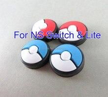 4 Uds Joystick cubierta pulgar Stick agarre tapa para Nintend Switch NS Lite alegría Con controlador Pokemon deslice el Gamepad Thumbstick caso
