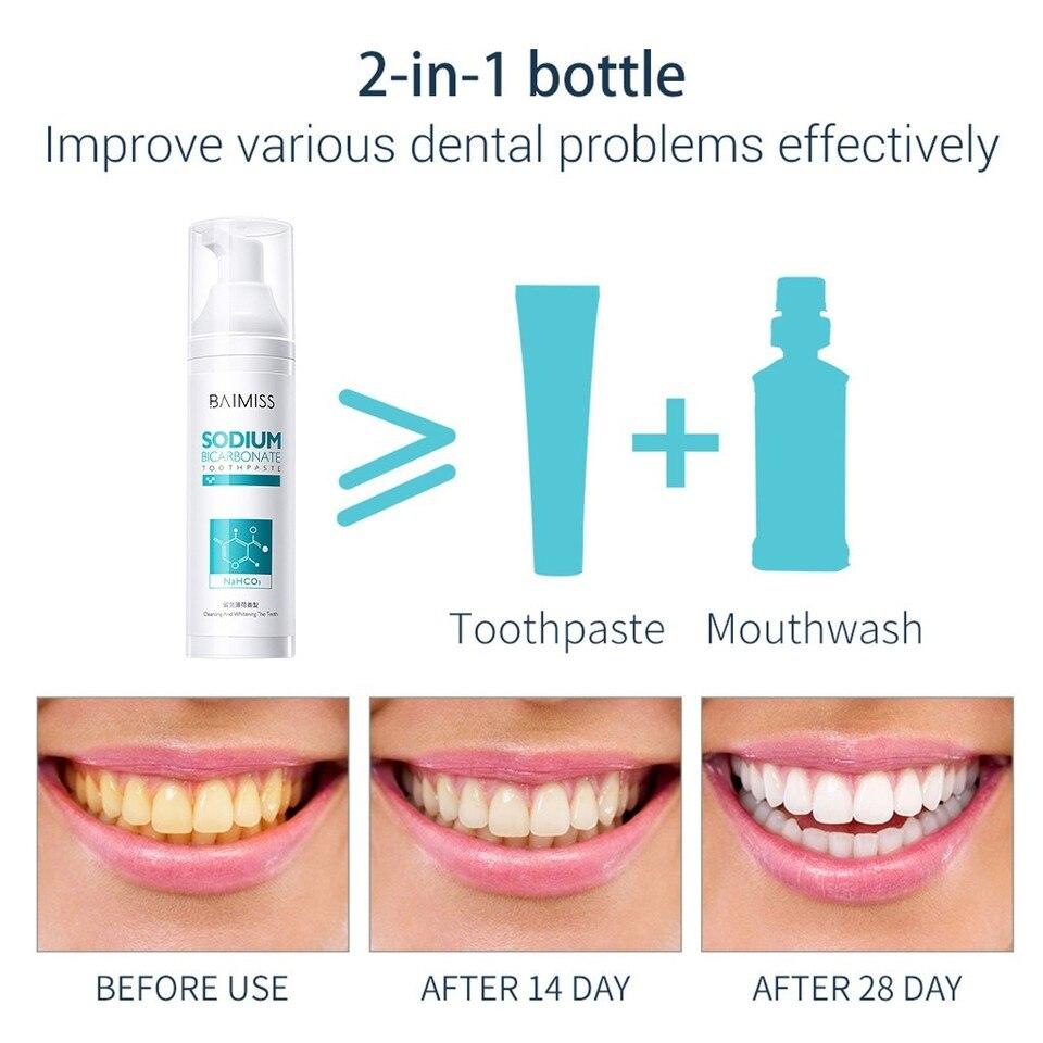 Stain Removal Teeth Whitening Toothpaste Oral Hygiene Plaque Stain Removal  Cleaning Toothpaste Fight Bleeding Gum Toothpaste 107| | - AliExpress
