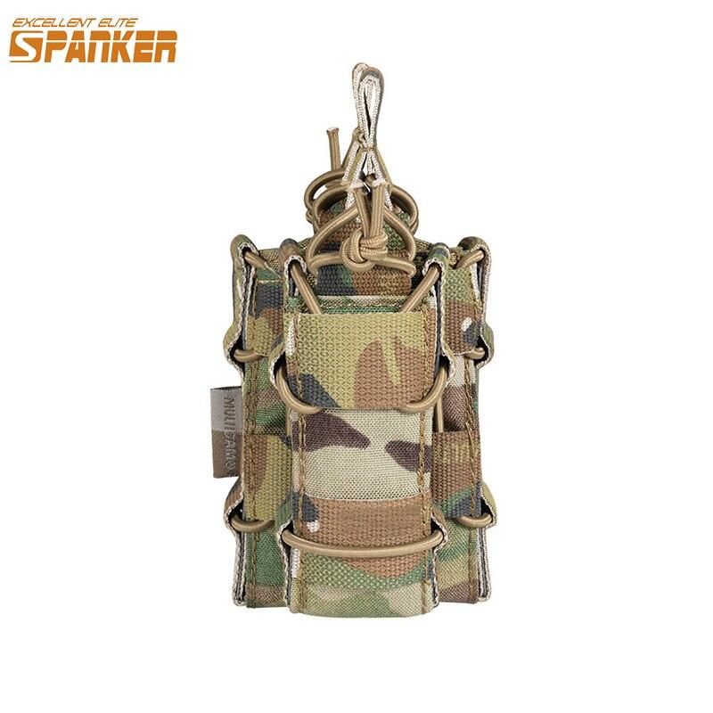 EXCELLENT ELITE SPANKER Hunting Pouch Military Magazine Bag  Military Bag Pocket Clip M4 Pistol Bags