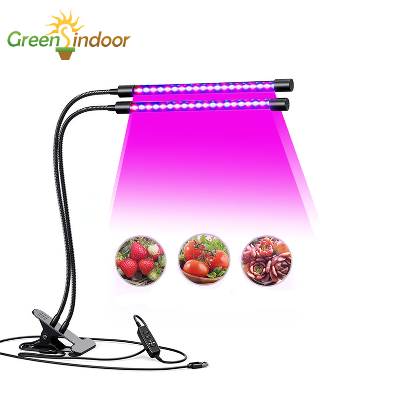 Fitolamp USB Grow Light 9/18/27W Fitolampy Lamp For Plants Seedlings Phyto Lamp With Controller LED Indoor Flowers Full Spectrum