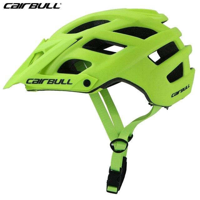 Cairbull trail xc capacete de bicicleta, capacete de segurança para ciclismo mtb super mountain bike ciclismo 55-61cm 6