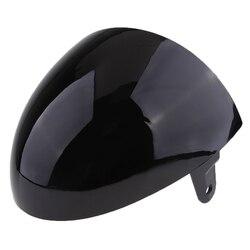 Evrensel Motosiklet ABS Arka Koltuk Kukuletası Kapağı Cafe Racer için Siyah