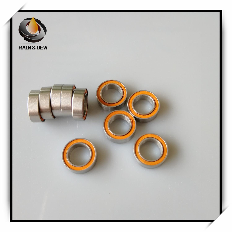 440c Stainless Steel CERAMIC Ball Bearing 4x7x2.5 mm ABEC-7 5 PCS SMR74-2RS