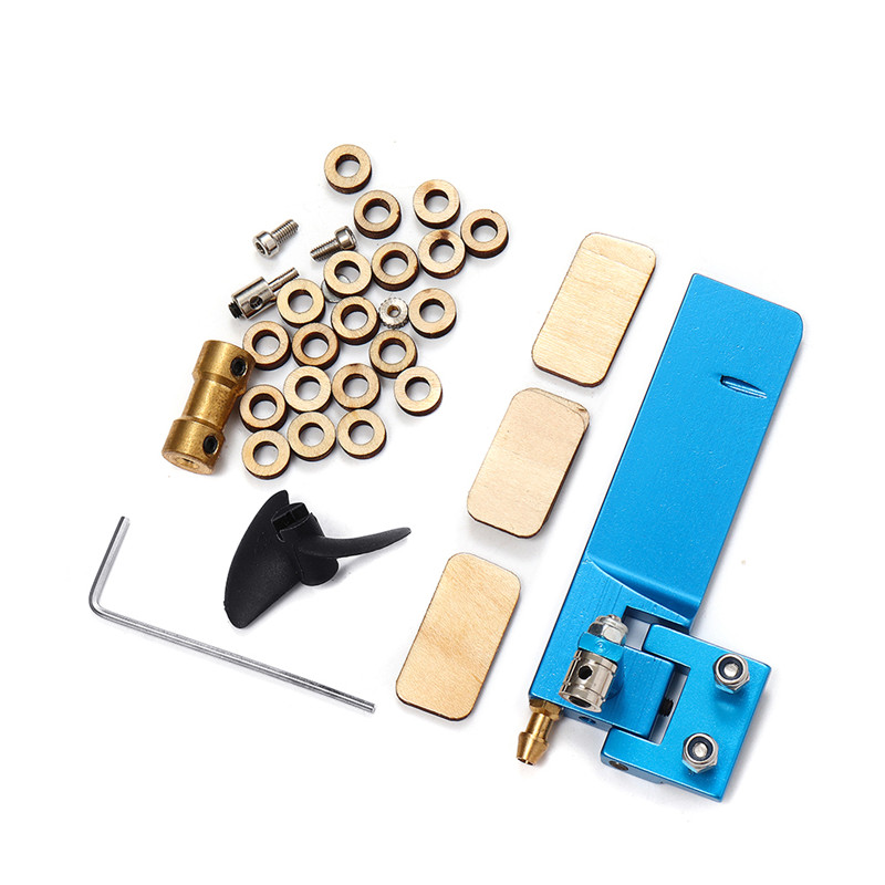 3652 Unassembled Electric RC Boat Kit without Motor ESC Servo Transmitter Battery Spare Parts DIY Accessories Model Toys Pakistan