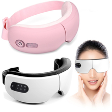 DIOZO Electric Vibration Bluetooth Eye Massager Hot Compress Therapy Glasses Eye Care Fatigue Relieve Vibration Massage Machine