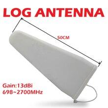Cep telefonu amplifikatör açık anten yüksek kazanç 13dbi 50 CM LDPA 700 - 2700 mhz GSM LTE DCS mobil sinyal güçlendirici