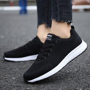 Image 1 - Tenis Feminino אישה טניס נעלי 2019 מכירה לוהטת ספורט נעלי נשי יציבות ספורט כושר כושר גרב נעל מאמני