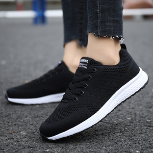 Image 1 - Tenis Feminino woman Tennis Shoes 2019 Hot Sale Sport Shoes Female Stability Athletic Fitness Gym Sock Sneaker Trainers