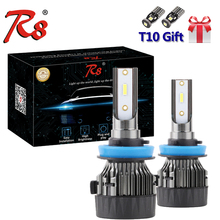 R8 M3 All In One Plug and Play LED Headlight Foglight Bulbs H1 H4 H7 H8 H9 H11 9005 9006 9012 880 881 H27 72W 8000LM CSP Chips