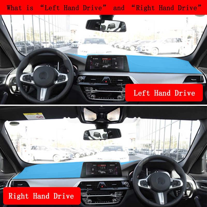 แผงควบคุมรถยนต์ฝาครอบ Dash Mat Pad Pad พรม Dashmat ภายในสำหรับ Toyota Alphard 2002-07 ขวามืออุปกรณ์เสริมสำหรับไดรฟ์