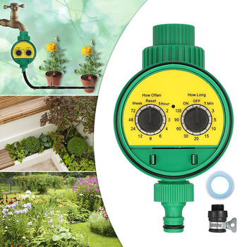 Automatic Irrigation Controller Home Ball Valve Garden Watering timer  1