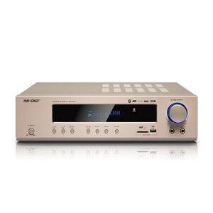 Image 2 - KYYSLB 650W 220V AK 558 Bluetooth Amplifier 5.1 Channel Home Theater Ktv High Power AV Digital Hifi Amplifier Subwoofer SD USB