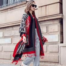 Moda Inverno Lenço Para As Mulheres Cachecol de Caxemira Quente Xadrez Cachecóis E Xales de Pashmina Cachecol Marca De Luxo Cobertor Wraps Feminino