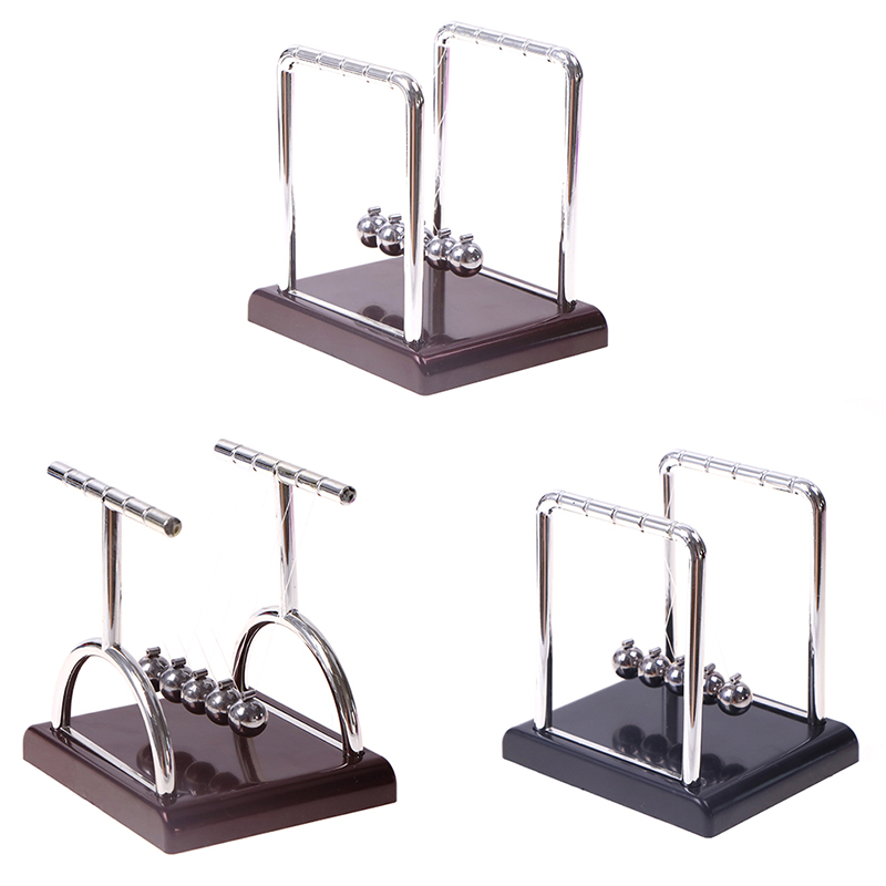 Berceau de Newton bureau Table décor métal pendule boule Newton boule physique Science pendule acier Balance boule