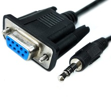 Cable jack de audio db9 rs232 a 3,5mm para consola de tv, cable de serie galileo gen1, Puerto ex link de samsung