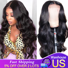 Perruque Lace Frontal wig 360 péruvienne Remy, cheveux naturels, Body Wave, pre plucked, Baby Hair, perruque Lace Front wig, pour femmes