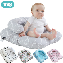 AAG Travel Baby Bed Crib Baby Nest Cot Newborn Breastfeeding Nursing Pillow Infant Cushion Mattress Sleeping Support Babynest