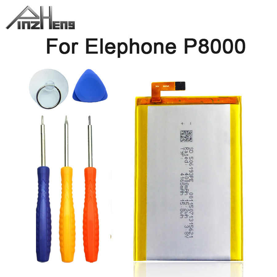 PINZHENG Nuovo 100% Originale 4165mAh Batteria Del Telefono Mobile Per Elefono P8000 di Alta Qualità Sostituzione Della Batteria Con Strumenti di Riparazione