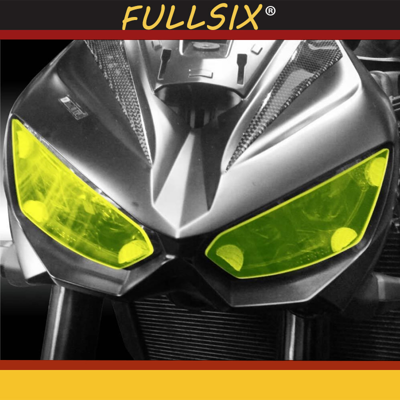 New Motorcycle headlight cover protection Front Headlight Cover Screen for kawasaki <font><b>Z1000</b></font> 2014-2016 Z1000R <font><b>2019</b></font> front lamp cover image