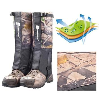 3D Outdoor Hiking Walking Snow Skiing Legging Gaiters Climbing Hunting Waterproof Leg Protection Guard Sandproof Foot Cover