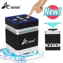 Adin مكبر صوت محمول للموسيقى ، مع اهتزاز رنين ، وصوت جهير للغاية ، وبلوتوث ، ومكبرات صوت صغيرة تعمل باللمس للهاتف ، 26 وات