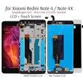 Дисплей для Xiaomi Redmi Note 4 ЖК-дисплей сенсорный экран Замена для Redmi Note 4X Snapdragon 625 Восьмиядерный дисплей 5,5''