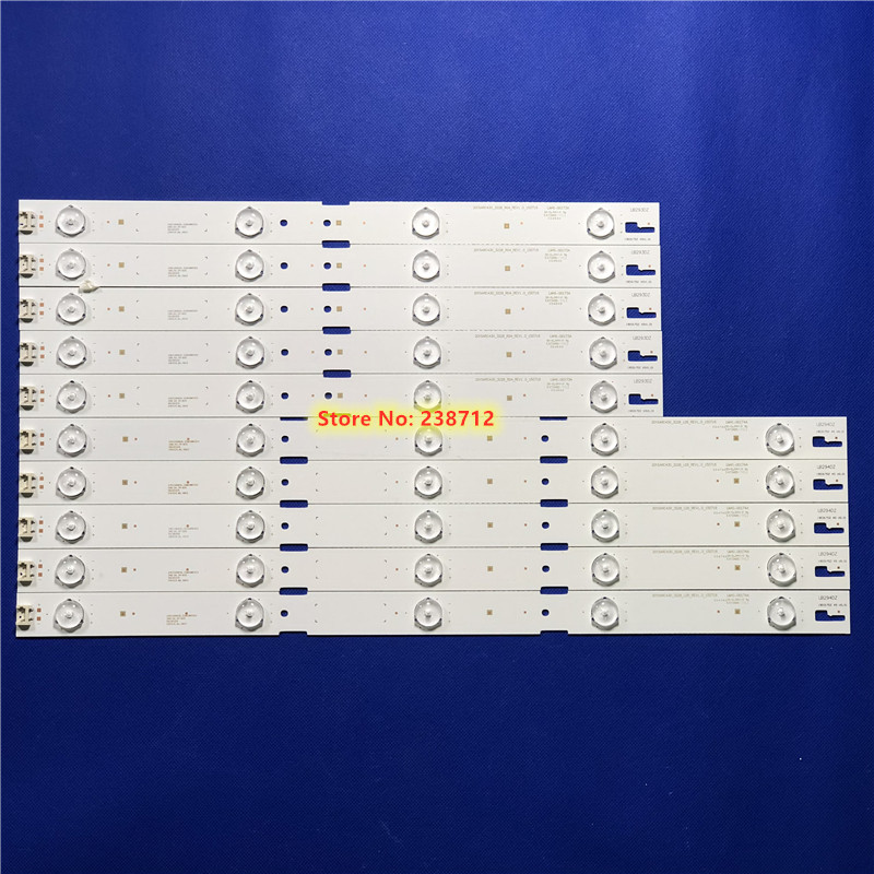 10 Pieces LED Backlight Strip Lamp For Sam Sung 43