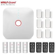 Система охранной сигнализации wolf guard 24 ГГц wi fi с датчиком
