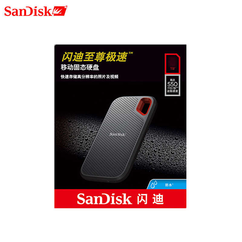 SanDisk SSD USB 3.1 סוג C 1TB 2TB 250GB 500GB חיצוני מצב מוצק דיסק 500 M/S חיצוני כונן קשיח למחשב נייד מצלמה או שרת