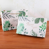Wedding candy paper packaging flower gift box коробка упаковка gift bag подарочная boite dragees de mariage упаковка для печенья