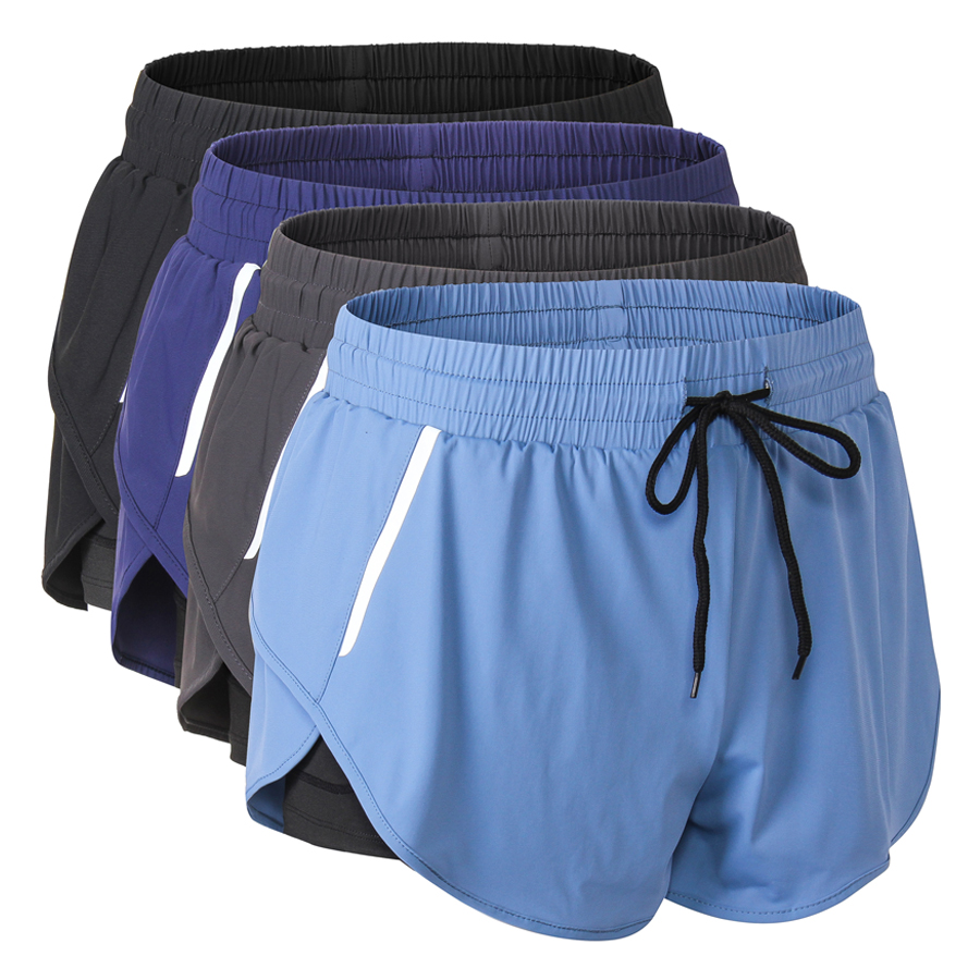 Women Skinny Running Sports Yoga Drawstring Booty Shorts Hot Pants Compression