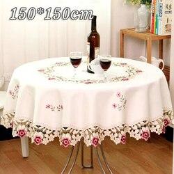 3 tamanho toalha de mesa toalha de mesa toalha de mesa redonda casamento festa em casa hotel banquete decorações modernas