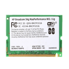 For HP Broadcom 54G Max Performance 802.11g BCM94318MPG Mini-PCI Wifi Wirelss Card 377325-001