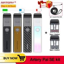 Best Vape pen Artery Pal SE Pod System kit 700mAh 2ml Pod vape electronic cigarette kit vs Ovns w01 minifit pasito pod vape kit