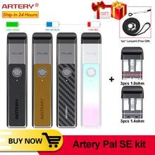 Melhor caneta vape artery pal se pod, kit sistema 700mah 2ml pod vape, eletrônico cigarro kit vs ovns kit vape mini fit para pasito w01