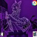 3d лампа Аниме Драконий жемчуг демон убийца Кочо канаэ светильник манга Кочо канаэ лампа Kimetsu без Yaiba, детский Рождественский костюм, подарок ...