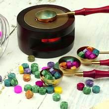 Sello de cera Vintage de 100 Uds., sello de cera, tableta, cuentas de pastillas para sobre, sello de cera de boda, cera de sellado antigua
